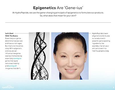 Writing Sample - Epigenetics Concept