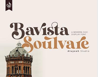 FREE | Bavista Soulvare - A Modern Chic Display Font