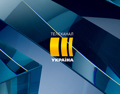 TRK Ukraina Broadcast Design TV Channel Branding
