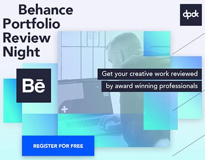 Behance Portfolio Review Night October 26th @DPDK