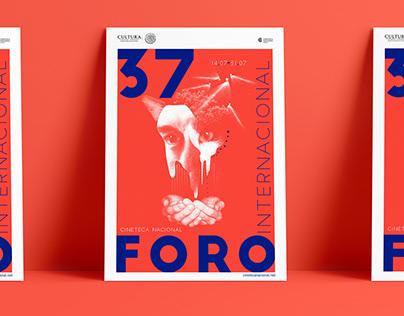 37 Foro Film Poster / Cultural Branding