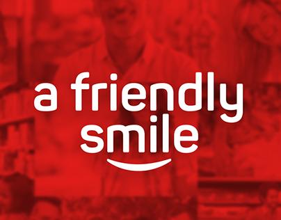 A friendly smile