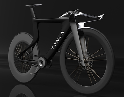Electric Bike Concept for Tesla