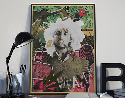 BOB MARLEY - Posters Trough Time