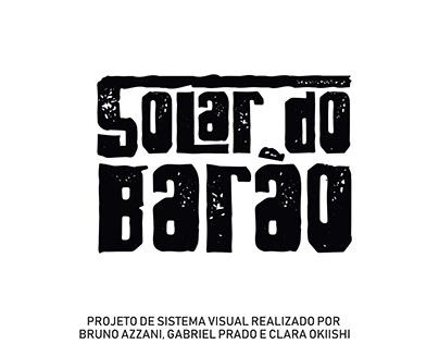 Identidade Visual Solar do Barão de Curitiba