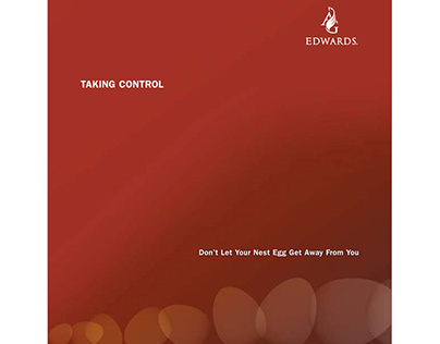 Taking Control of Your Nest Egg – Corp. Brochure Design