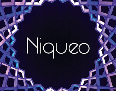 NIQUEO - FREE ROUNDED GEOMETRIC FONT