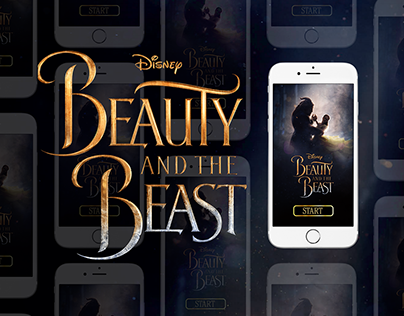 Disney Beauty and the Beast, ( app facebook projects )