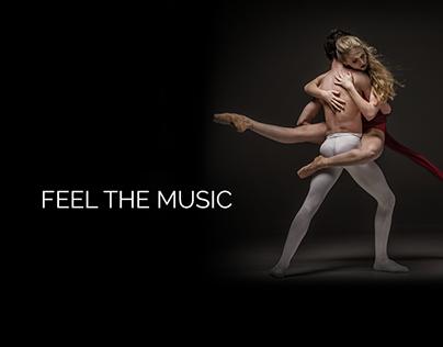 web design - dance template