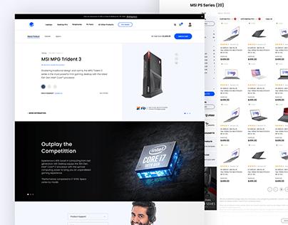 E-commerce - Tech Shop