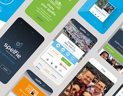 Spelfie App Design