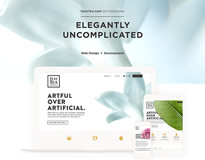 Teastea.com Design and Developement