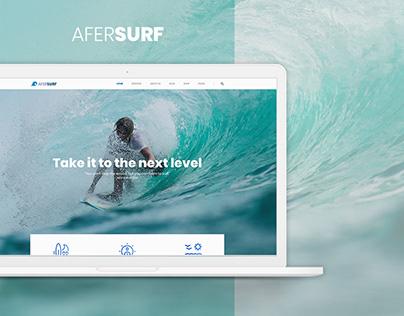 AFERSURF - Web Design UX/UI