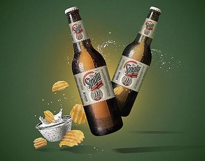 Beer Bottles / Key Visual Composite