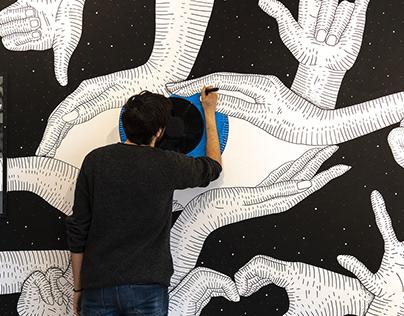 Hand - Eye Coordination | mural