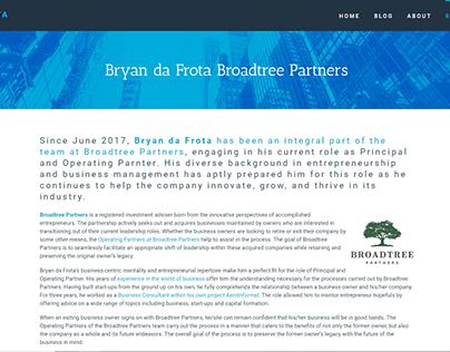Broadtree Partners - Bryan da Frota