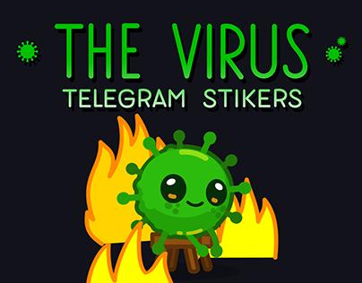 The Virus Telegram Stickers