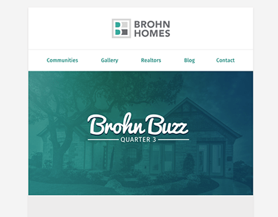 Brohn Buzz Newsletter Email
