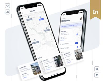 Communicator - Mobile Application Design (UI/UX)