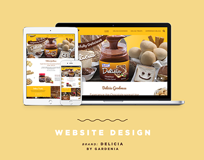 Website Design for Delicia