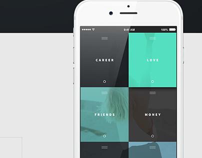 Pursuit For Happiness/ UI Design