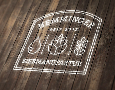 BRANDING DESIGN: Hemminger Biermanufaktur