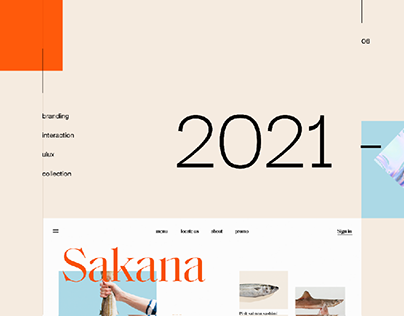 Selected Web and UI/UX Projects - 2021
