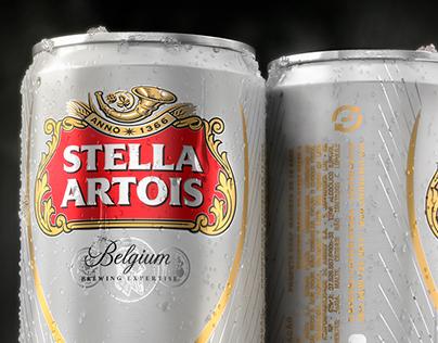 CGI Stella Artois Can