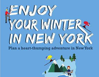 NY Travel Poster