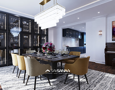 Neo classical apartment - SaySanaa