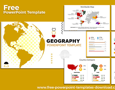 Free PowerPoint Template | Geography Presentation