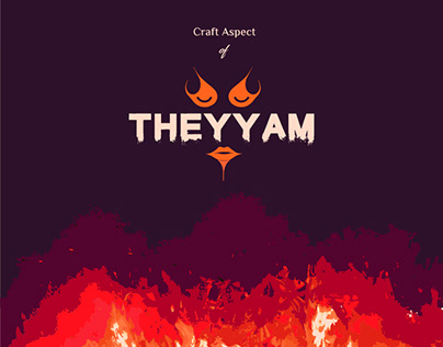 Craft Aspect of Theyyam | Infographic Design