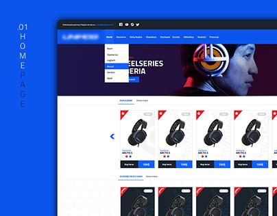 Website Shop - Gaming Equipment