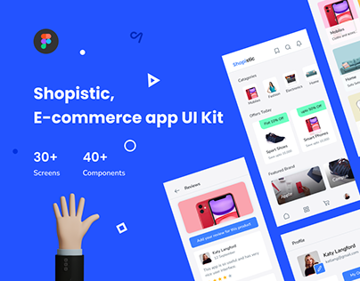 Shopistic - Ecommerce app UI Kit
