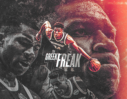 NBA Art | The Greak Freak | Personal Project