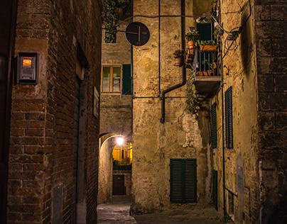 Old Town Siena
