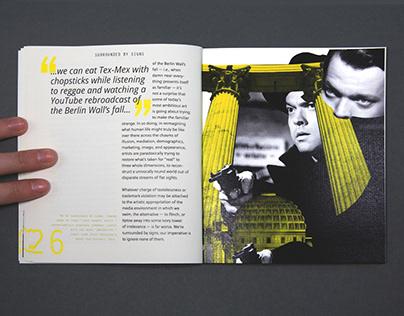 Ecstasy of Influence Book Design