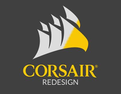 Corsair Website Redesign