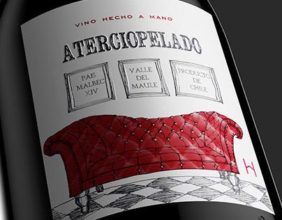 Aterciopelado · Wine Label Design · Wine Of Chile