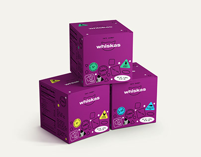 Whiskas — Rebranding and communication concept