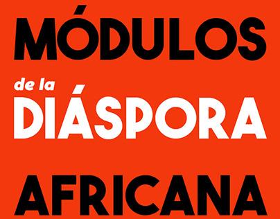 Módulos de la diáspora africana