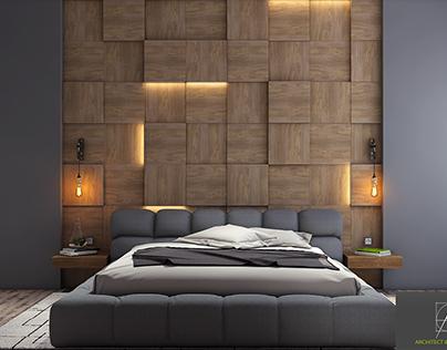 Apartment in Azadliq avenue.Bedroom