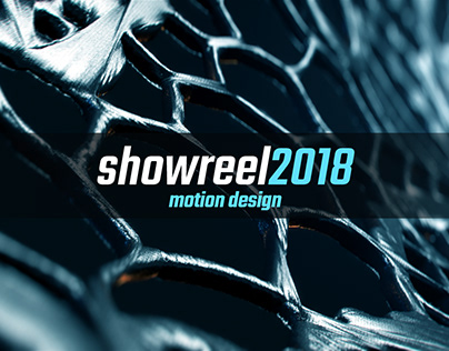 Showreel 2018 Motion Design