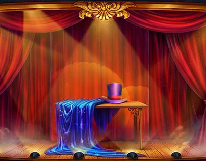 "Online slot machine – ""Magician"""