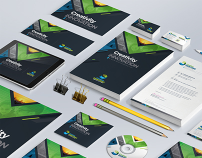 Creative Business Branding Stationery Identity