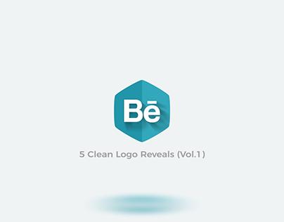 5 Clean Logo Reveals (Vol.1)