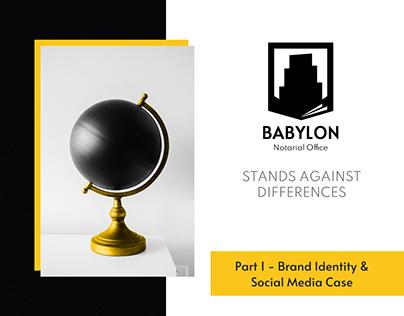 Notarial company - Brand Identity / Social Media / Logo