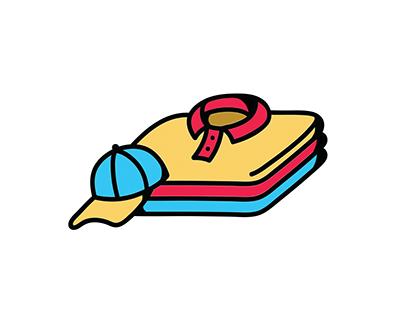 Second Hand Shop simple Logo design