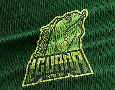 iguana esport logo concept