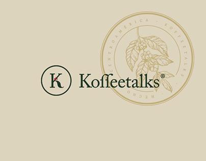 Koffeetalks - Brand & Visual identity